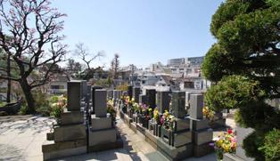 真英寺の墓地について