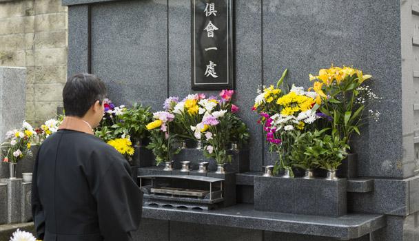 永代供養墓でのご法要について