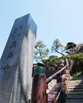 新宿区四谷にある真英寺の境内画像