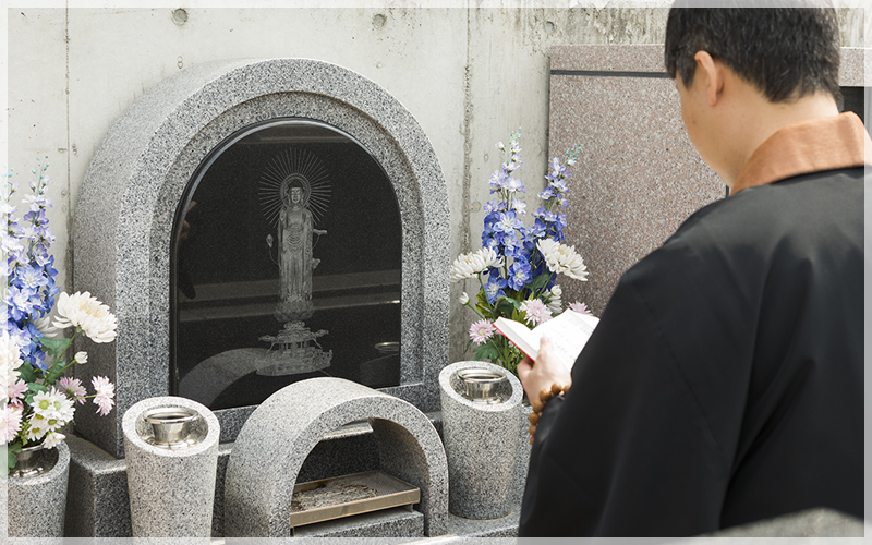 真英寺夫婦墓の写真3